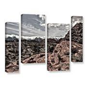 ArtWall Fingertip Afternoon Canvas Wall Art 4 pc Set