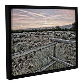 ArtWall Intersection Of The Tortoise & Hare Framed Wall Art