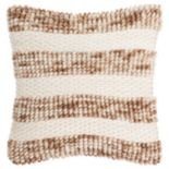 Safavieh Striped Loop & Weave Throw Pillow