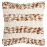 Safavieh Striped Loop & Weave Throw Pillow