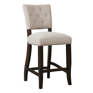 INK+IVY Brooklyn Upholstered Counter Stool