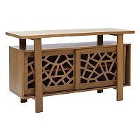 INK+IVY Crackle Storage Buffet Table