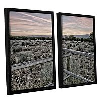 ArtWall Intersection Of The Tortoise & Hare Framed Wall Art 2 pc Set