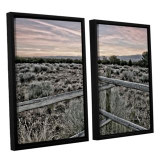 ArtWall Intersection Of The Tortoise & Hare Framed Wall Art 2-piece Set