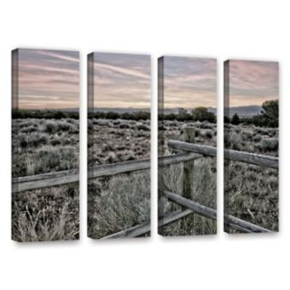 ArtWall Intersection Of The Tortoise & Hare Canvas Wall Art 4-piece Set