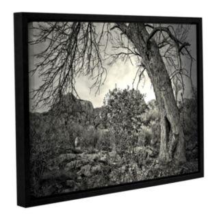 ArtWall Listen To Whispers Framed Wall Art
