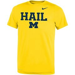 Boys 8-20 Nike Michigan Wolverines Legend FootbALL Tee