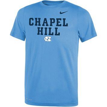 Boys 8-20 Nike North Carolina Tar Heels Legend FootbALL Tee