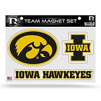 Iowa Hawkeyes Team Magnet Set