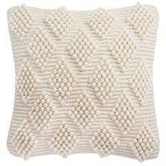 Safavieh Spaced Diamond Loop Throw Pillow
