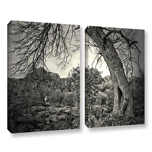 ArtWall Listen To Whispers Canvas Wall Art 2-piece Set