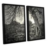 ArtWall Listen To Whispers Framed Wall Art 2-piece Set
