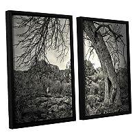 ArtWall Listen To Whispers Framed Wall Art 2 pc Set