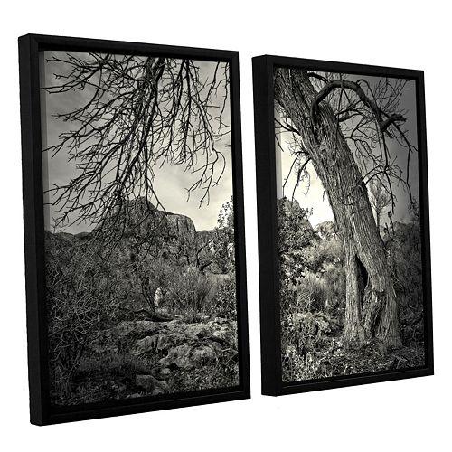 ArtWall Listen To Whispers Framed Wall Art 2-piece Set