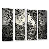 ArtWall Listen To Whispers Canvas Wall Art 4 pc Set
