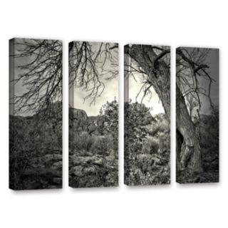 ArtWall Listen To Whispers Canvas Wall Art 4-piece Set