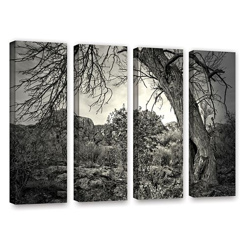 ArtWall Listen To Whispers Canvas Wall Art 4-piece Set