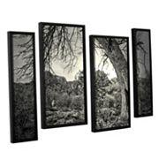 ArtWall Listen To Whispers Framed Wall Art 4 pc Set