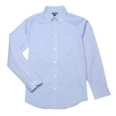 Boys 4-20 Chaps School Uniform Oxford Button-Down Shirt