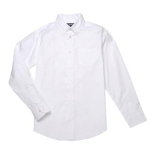Boys 4-20 Chaps School Uniform Oxford Button-Down Shirt