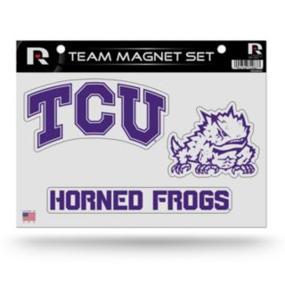 TCU Horned Frogs Team Magnet Set