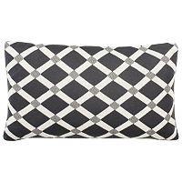 Safavieh Diamond Knit Throw Pillow