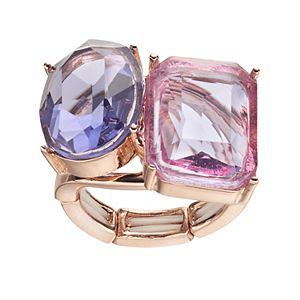 Jennifer Lopez Oval & Rectangle Stretch Ring