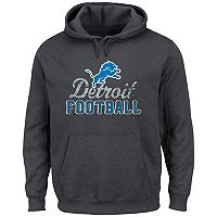 Men's Majestic Detroit Lions Kick Return Hoodie