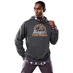 Men's Majestic Cincinnati Bengals Kick Return Hoodie