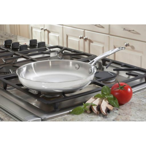 Cuisinart Chef's Classic Stainless Steel 10-in. Skillet