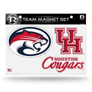 Houston Cougars Team Magnet Set