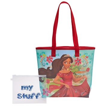 Disney's Elena of Avalor Girls Clear Back Beach Tote