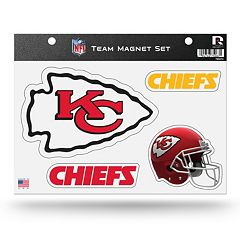 Kansas City Chiefs Team Magnet Set