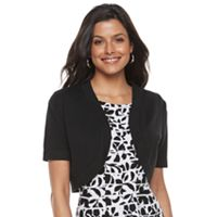 Women's Nina Leonard Solid Shrug