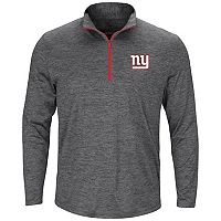 Men's Majestic New York Giants Intimidating Half-Zip Top