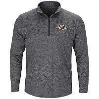 Men's Majestic Baltimore Ravens Intimidating Half-Zip Top