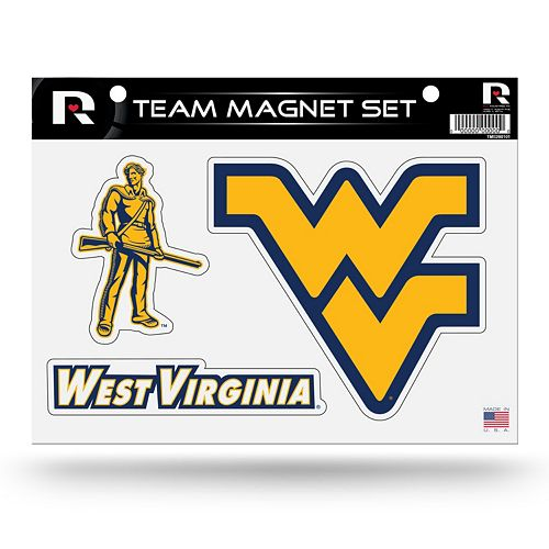 West Virginia Mountaineers Team Magnet Set