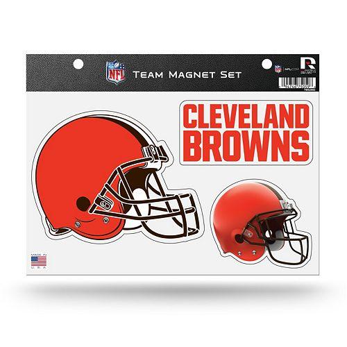 Cleveland Browns Team Magnet Set