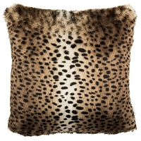 Safavieh Leopard Faux Fur Throw Pillow