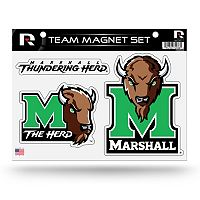 Marshall Thundering Herd Team Magnet Set