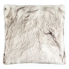 Safavieh Coco Tips Faux Fur Throw Pillow