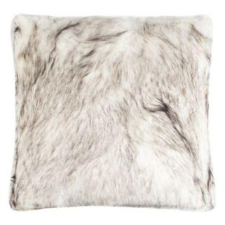 Safavieh Coco Tips Faux Fur Throw Pillow