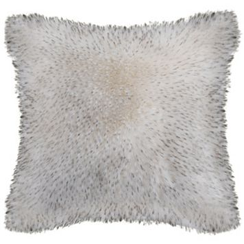 Safavieh Dalmation Tips Faux Fur Throw Pillow