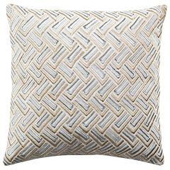 Safavieh Metallic Geometric Throw Pillow