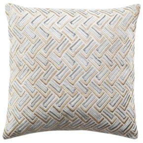 Safavieh Metallic Geometric Throw Pillow