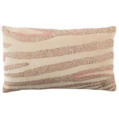 Safavieh Blush Striped Oblong Throw Pillow