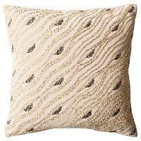 Safavieh Silver Mint Sparkles Throw Pillow