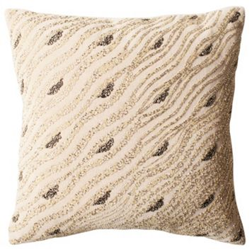 Safavieh Silver Mint Sparkles Throw Pillow