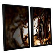 ArtWall Mend Rope & Tree Framed Wall Art 2 pc Set