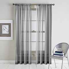 Window Curtainworks 1-Panel Classic Serenade Sheer Window Curtain